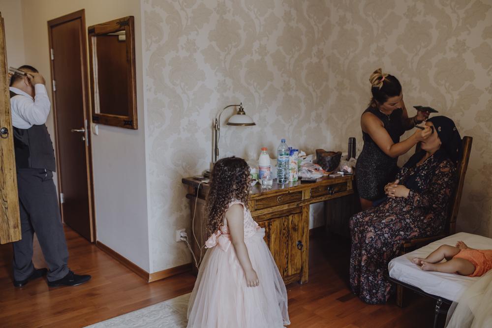Ślub na zamku królewskim w Niepołomicach-10