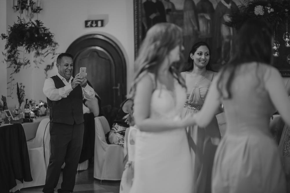 Ślub na zamku królewskim w Niepołomicach-135