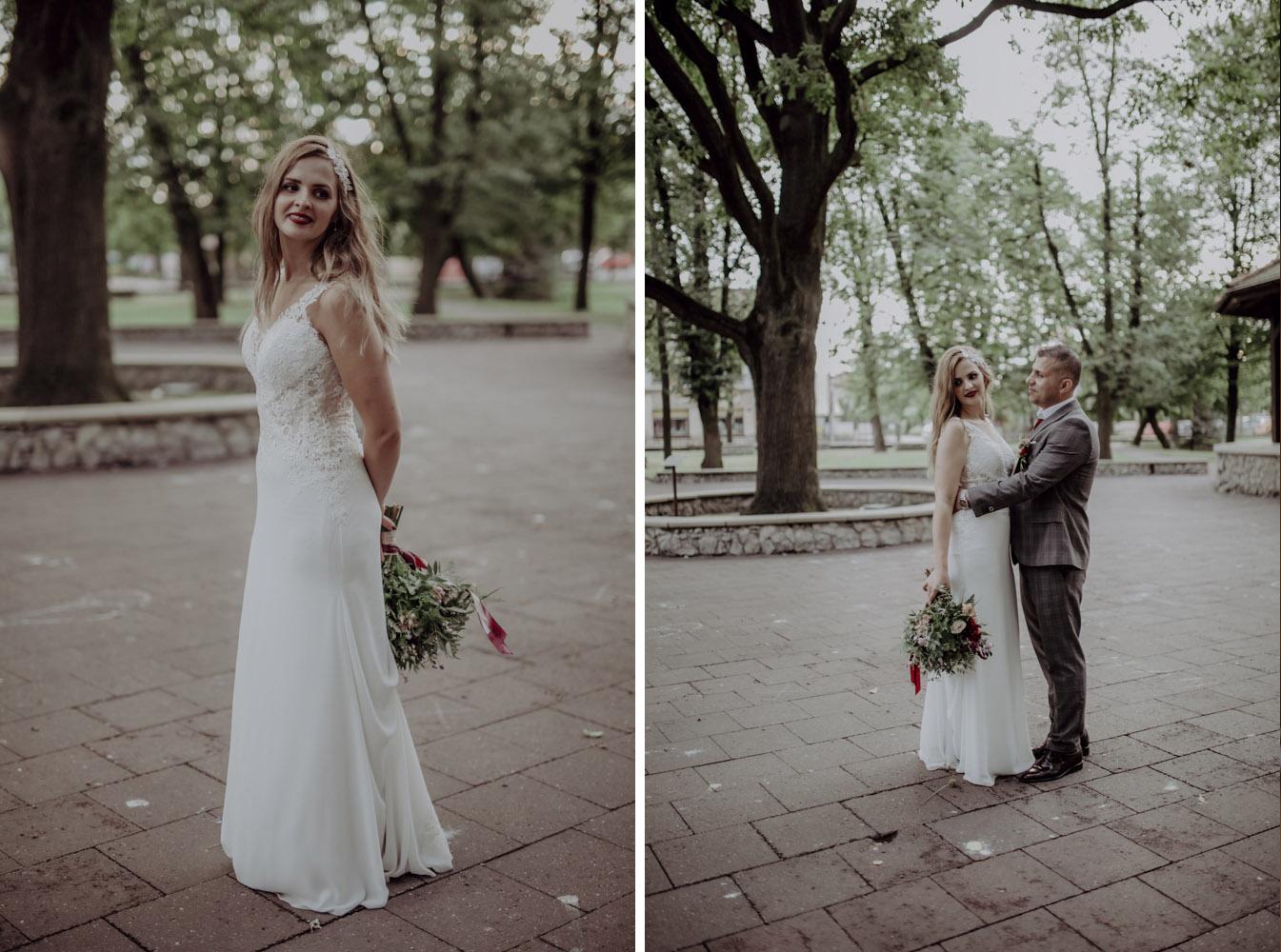 Ślub na zamku królewskim w Niepołomicach-148