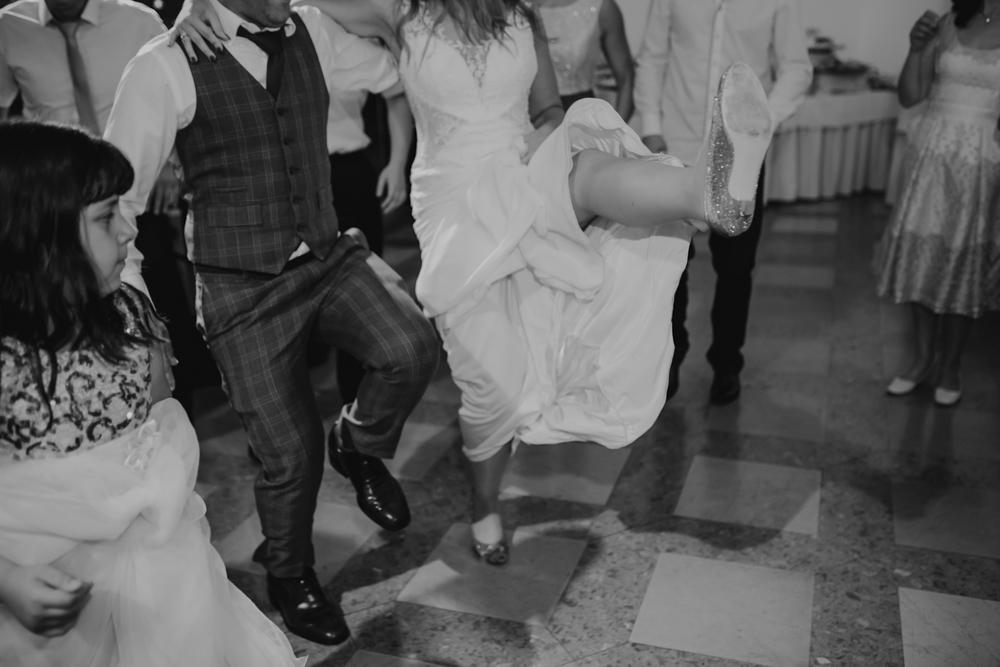 Ślub na zamku królewskim w Niepołomicach-160