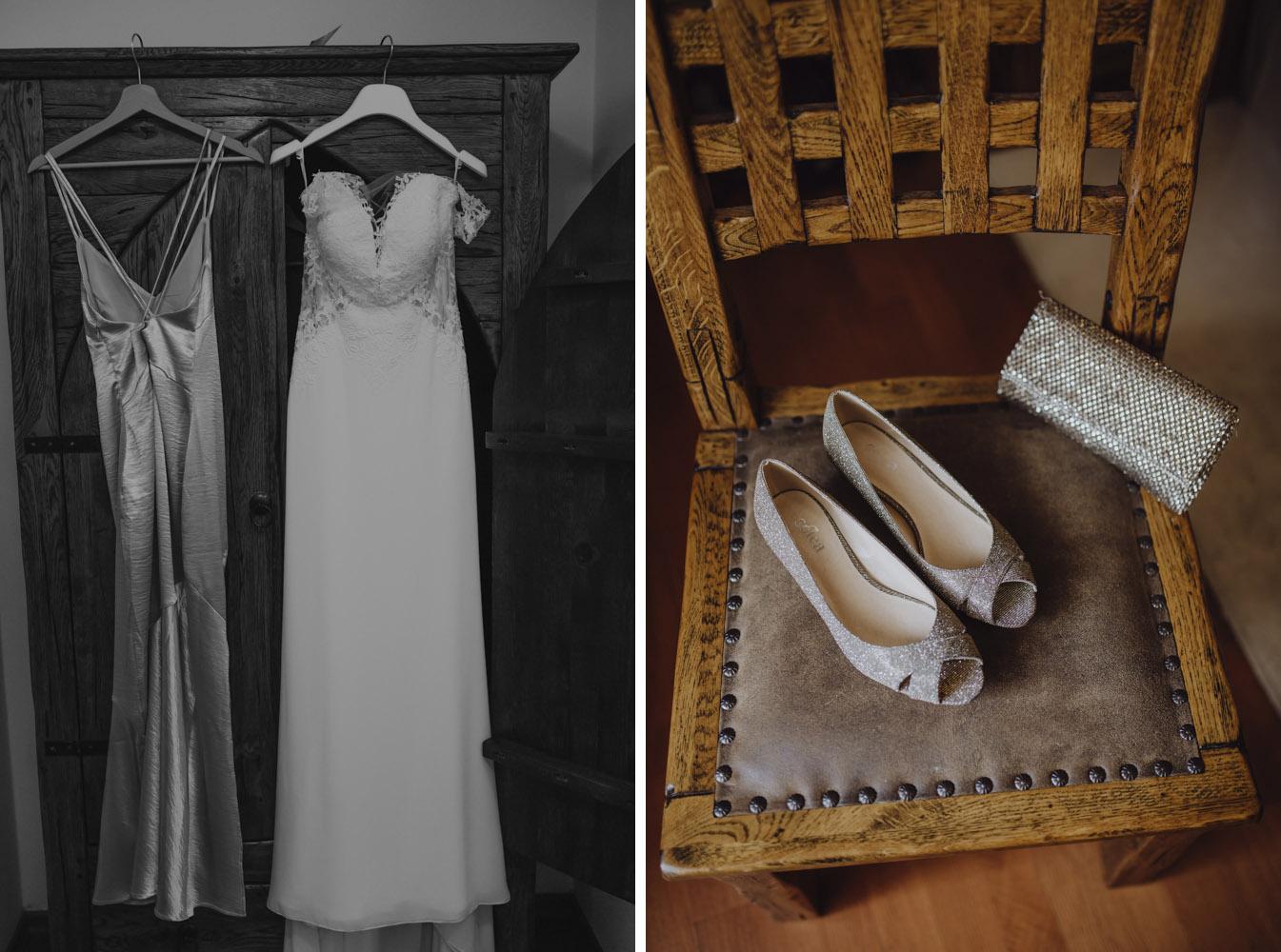 Ślub na zamku królewskim w Niepołomicach-17