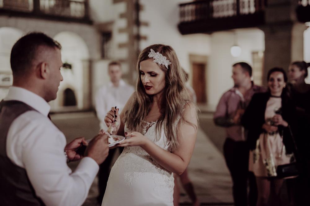 Ślub na zamku królewskim w Niepołomicach-186