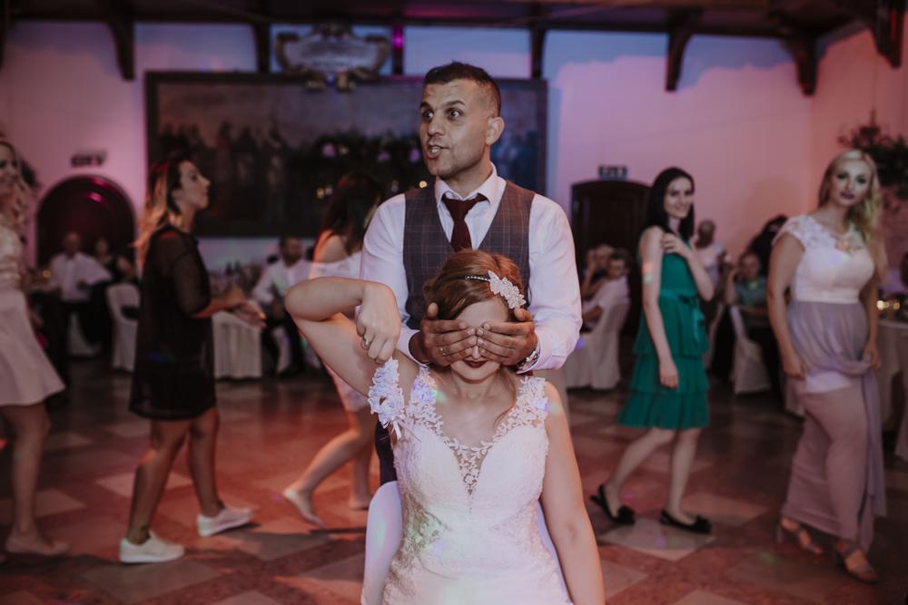 Ślub na zamku królewskim w Niepołomicach-208