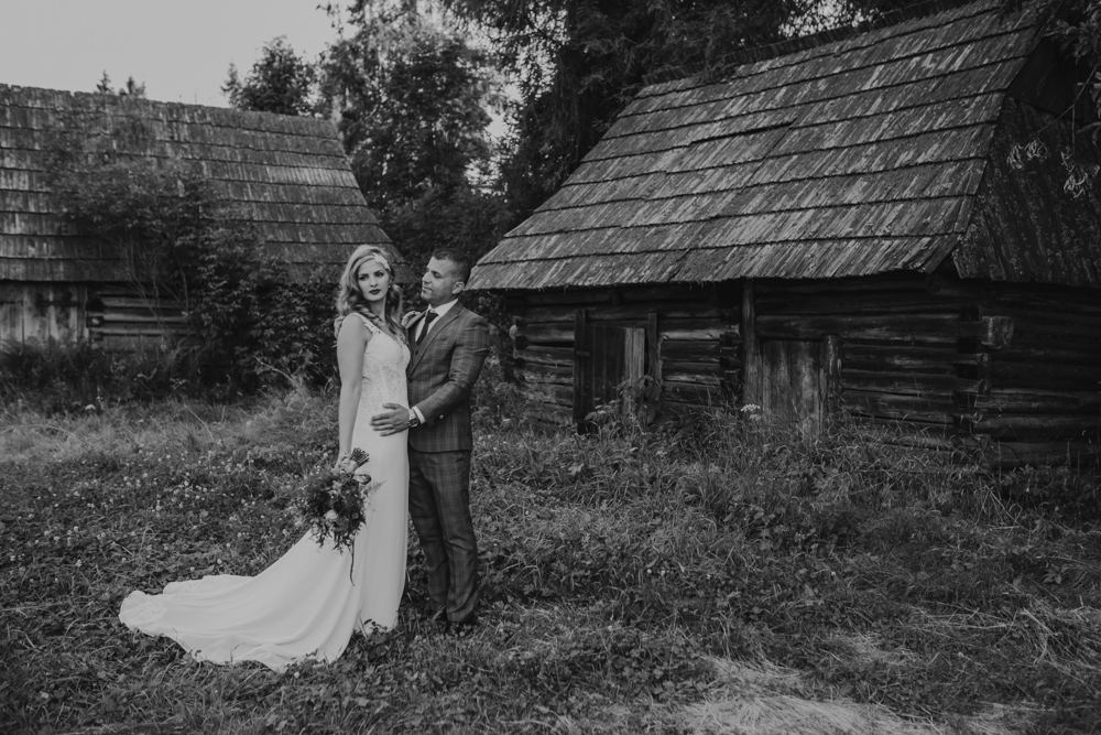 Ślub na zamku królewskim w Niepołomicach-218