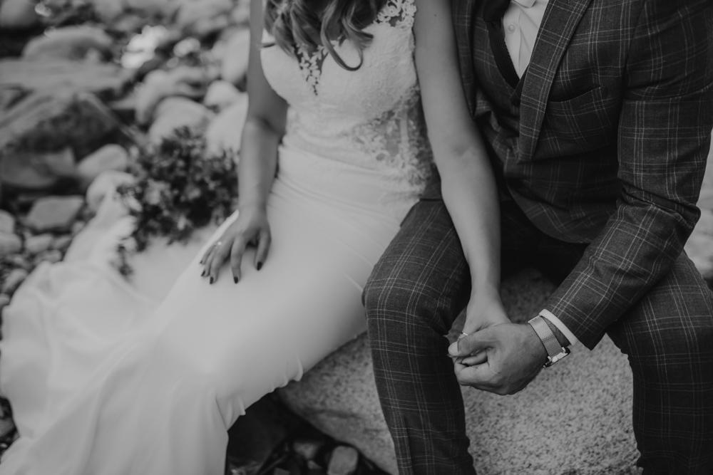 Ślub na zamku królewskim w Niepołomicach-226