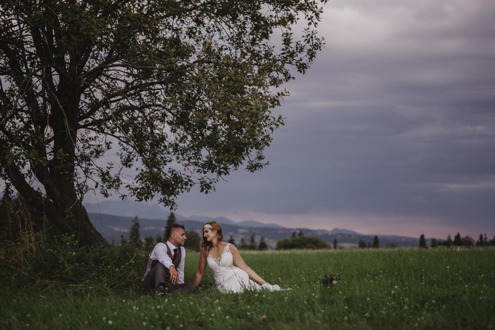 Ślub na zamku królewskim w Niepołomicach-240