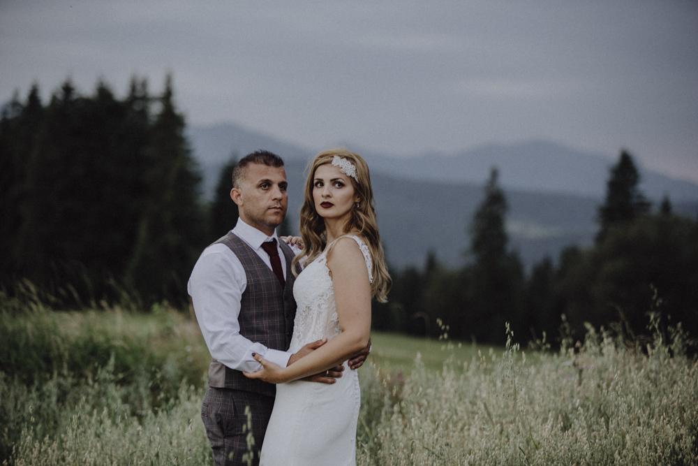 Ślub na zamku królewskim w Niepołomicach-246