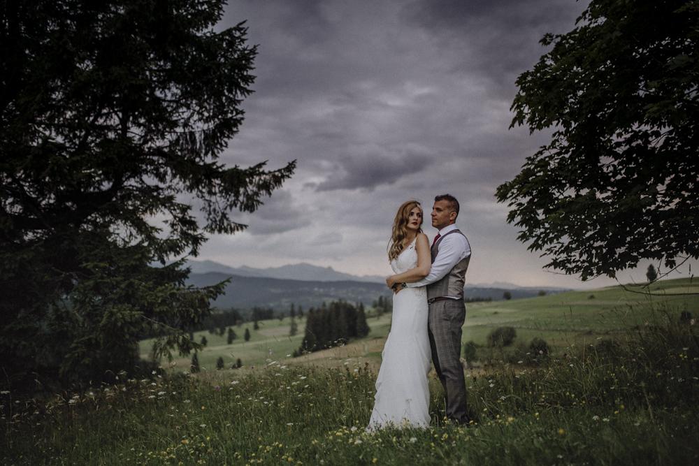 Ślub na zamku królewskim w Niepołomicach-252