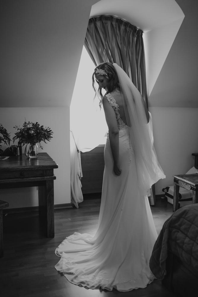 Ślub na zamku królewskim w Niepołomicach-37