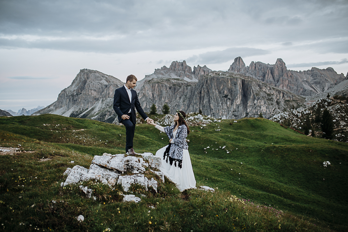 Sesja ślubna w Dolomitach_wedding session in Dolomites-128