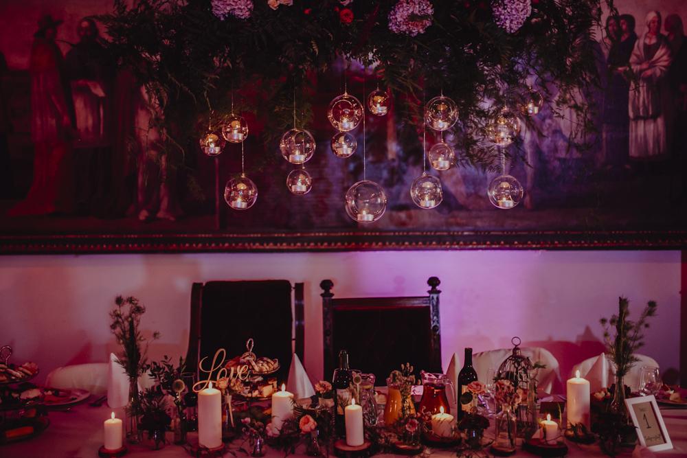Ślub na zamku królewskim w Niepołomicach-107