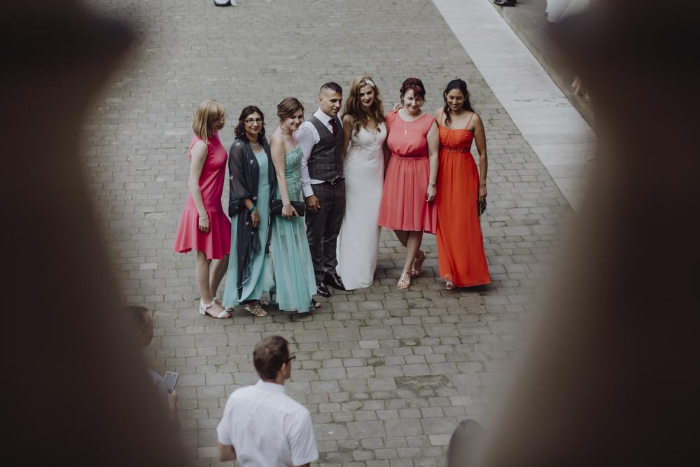 Ślub na zamku królewskim w Niepołomicach-118