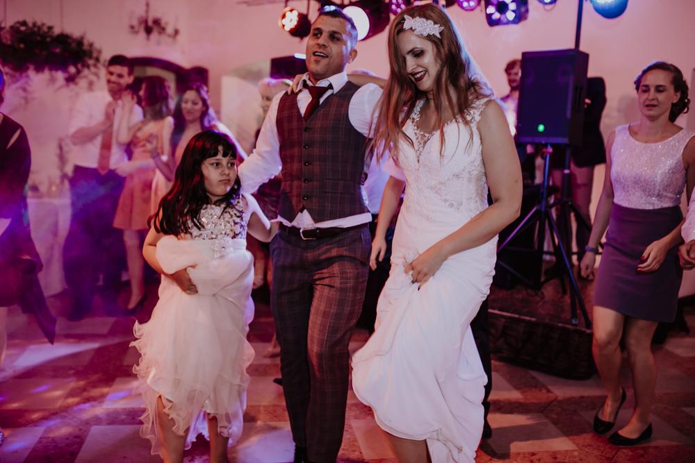 Ślub na zamku królewskim w Niepołomicach-161