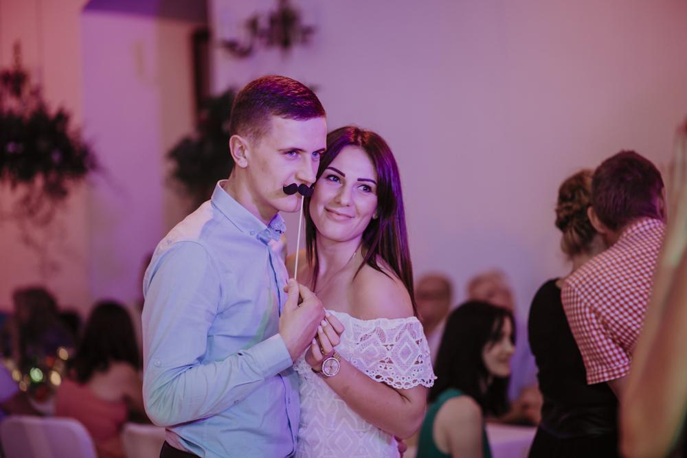 Ślub na zamku królewskim w Niepołomicach-192