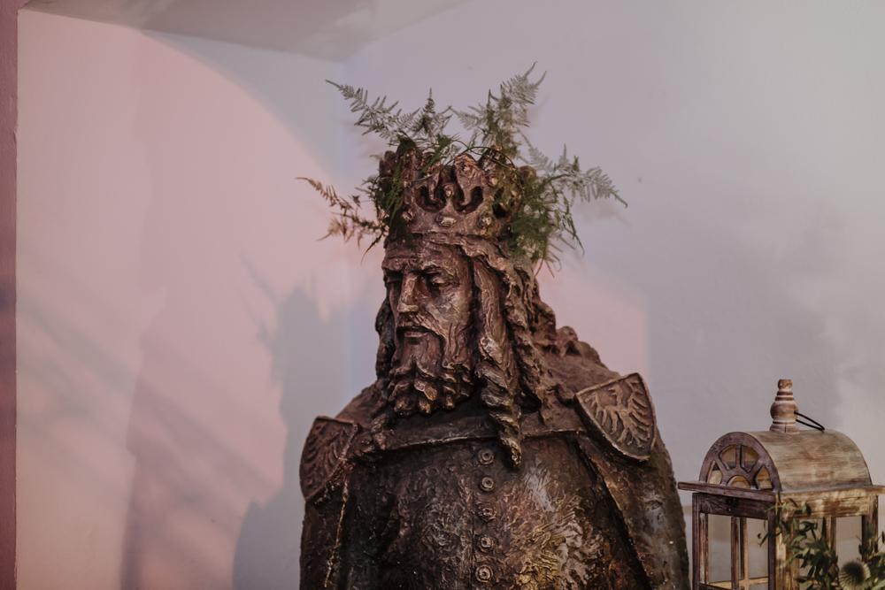 Ślub na zamku królewskim w Niepołomicach-194