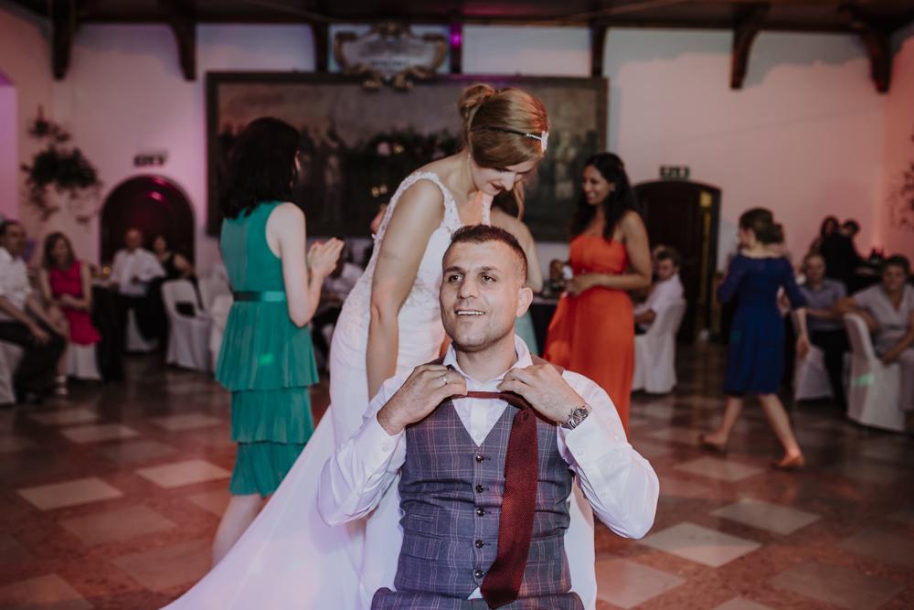 Ślub na zamku królewskim w Niepołomicach-210