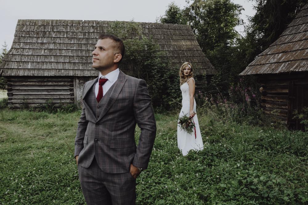 Ślub na zamku królewskim w Niepołomicach-216