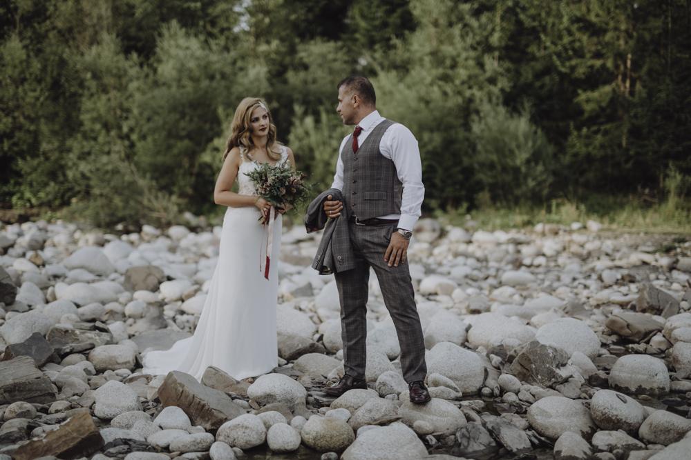 Ślub na zamku królewskim w Niepołomicach-222