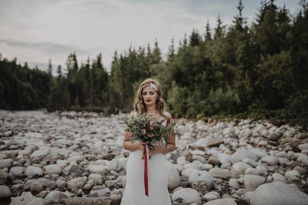 Ślub na zamku królewskim w Niepołomicach-229