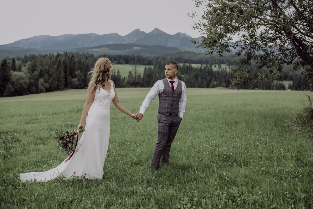 Ślub na zamku królewskim w Niepołomicach-238