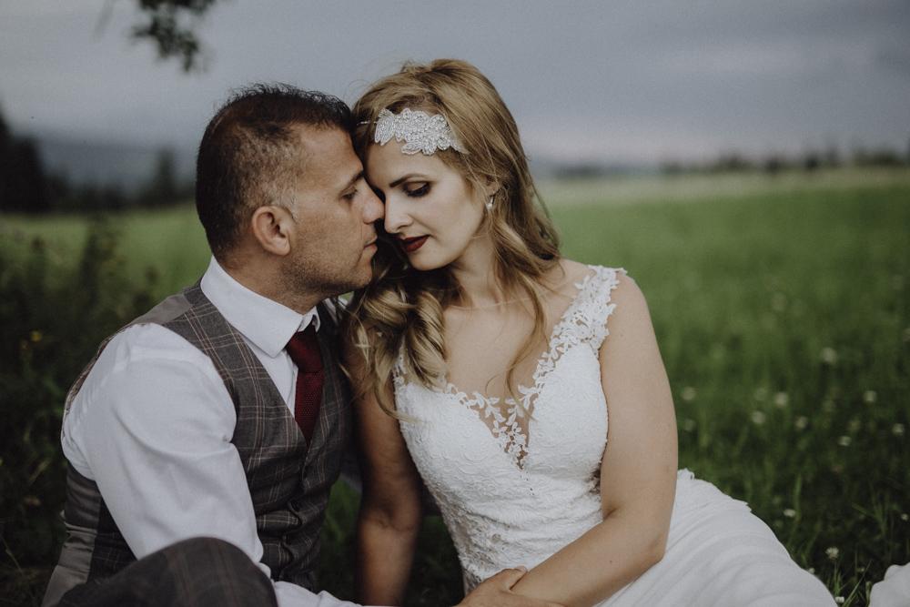 Ślub na zamku królewskim w Niepołomicach-242