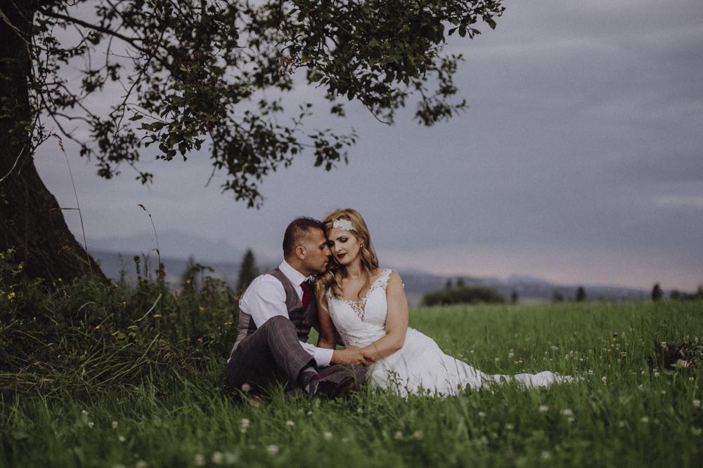 Ślub na zamku królewskim w Niepołomicach-243