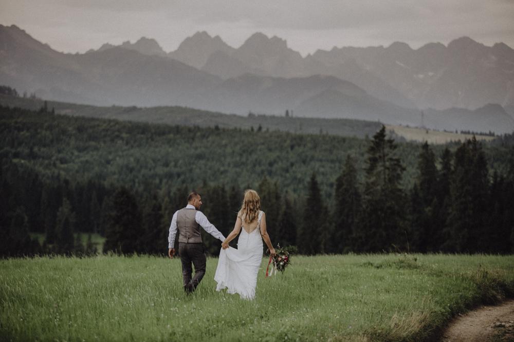 Ślub na zamku królewskim w Niepołomicach-245