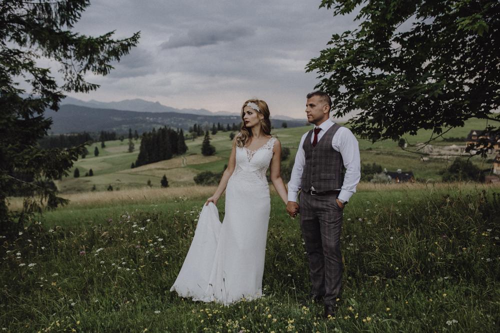 Ślub na zamku królewskim w Niepołomicach-251