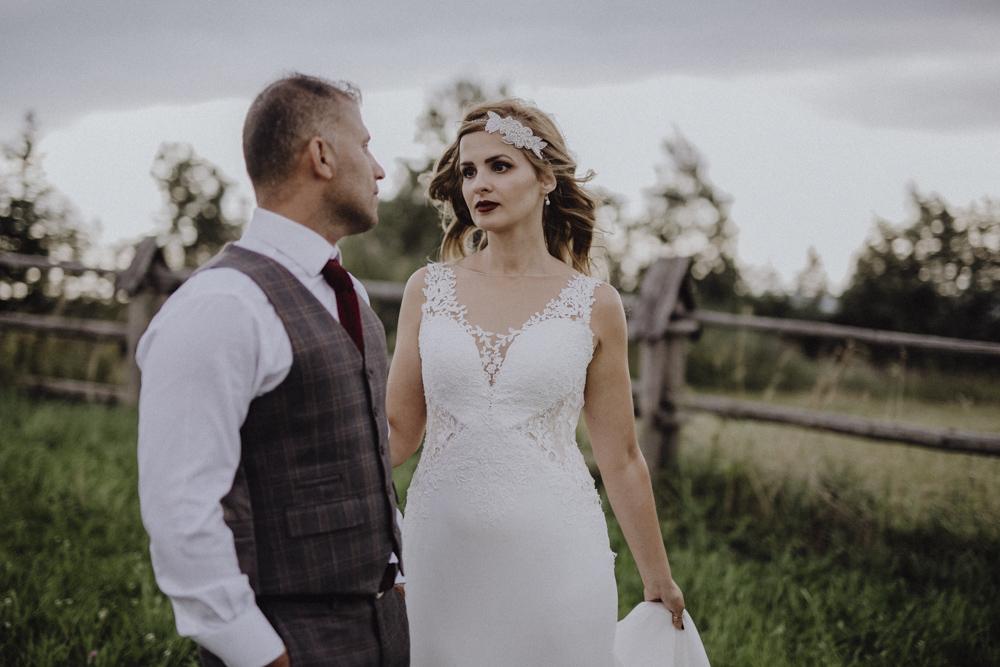 Ślub na zamku królewskim w Niepołomicach-257