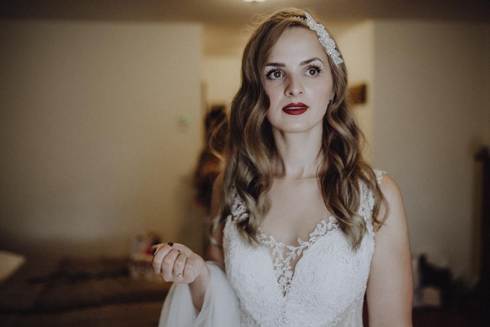 Ślub na zamku królewskim w Niepołomicach-35