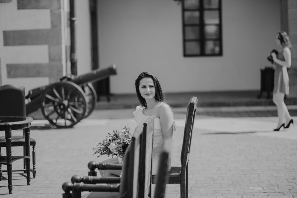 Ślub na zamku królewskim w Niepołomicach-48
