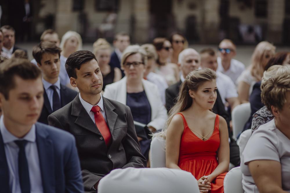 Ślub na zamku królewskim w Niepołomicach-65
