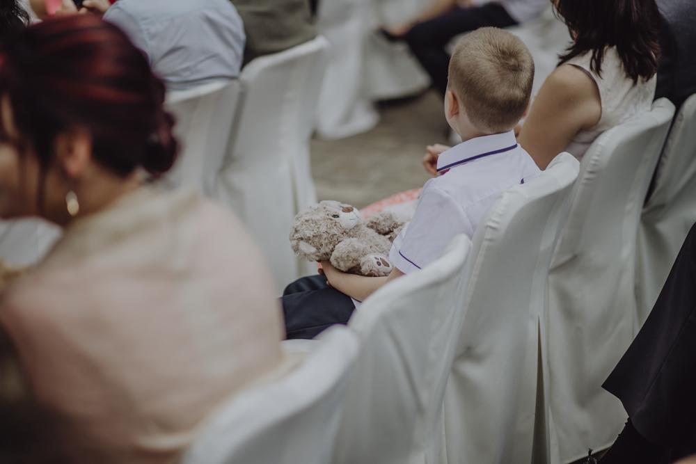 Ślub na zamku królewskim w Niepołomicach-75